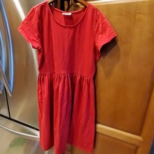 Hanna Andersson size 150/12 Red Twirl Dress